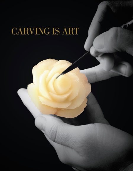 CARVING IS ART